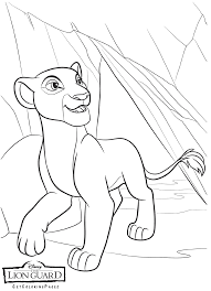 nala coloring pages the lion guard coloring pages getcoloringpages com