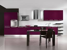 purple kitchen decorating ideas kitchen room minimalist kitchen decoration from white wall