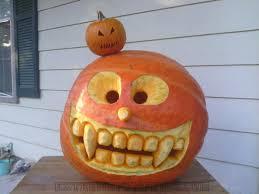 crazy eyes pumpkin