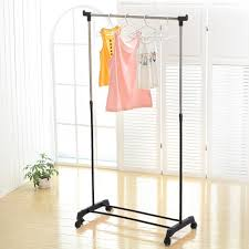 clothes hanging rack flexi movable coat garment rack diy clothes