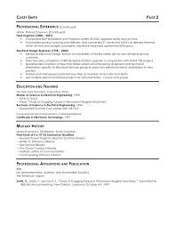 Maintenance Engineer Resume Engineering Electrical Engineering Resume Objective