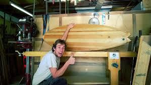building my first wooden surfboard hollow core wooden surfboard