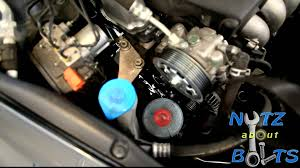 2003 2012 honda accord serpentine belt replacement youtube