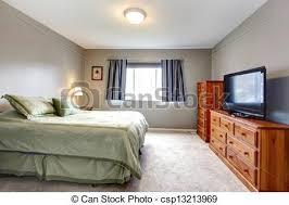 tv dans chambre bleu tv commode gris grand chambre à coucher curtains