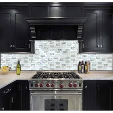 glass tile kitchen backsplashes pictures metal and white tst glass metal tile iridescent white glass silver mirror stainless