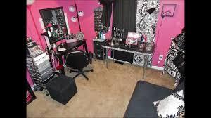 Pink Zebra Bedroom Designs My Updated Makeup Room Pink Or Zebra Lovers Youtube
