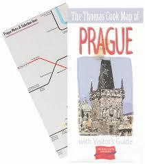 Prague Metro Map by Thomas Cook Holidays Street U0026 Metro Maps Robin Worldwide