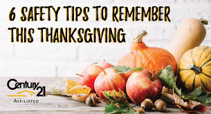 6 safety tips to remember this thanksgiving real estate