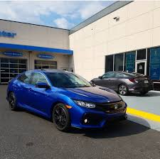 honda car service 2017 civic ex hatchback in new sonic gray pearl first dealership