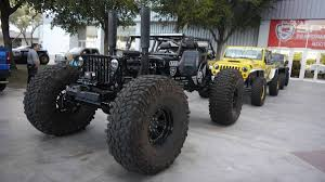 jeep wrangler jacked up jeep wrangler and other jeeps at the 2015 sema show