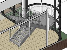 revitcity com steel stairs with channel stringers