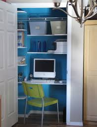 Closet Home Office Design Ideas - Closet home office design ideas