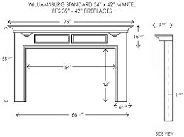 wood fireplace mantels fireplace surrounds williamsburg