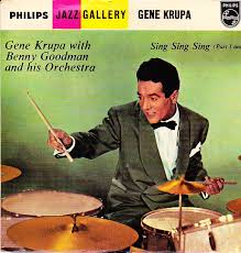 sing sing sing with a swing louis prima 45cat gene krupa with benny goodman and his orchestra sing