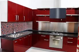 kitchen red kitchen ideas with white and red kitchen cabinet