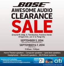 bose home theater dock manila shopper bose audio clearance sale at tiendesitas sept 2014