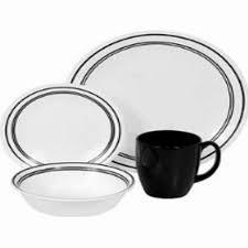 Corelle Square Dishes Corelle Livingware Secret Garden 16 Piece Vitrelle Dinnerware Set