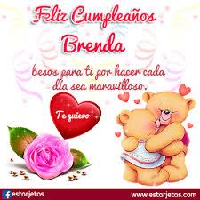 Imagenes De Cumpleaños Para Brenda | feliz cumpleaños brenda imágenes gifs de cumpleaños estarjetas com