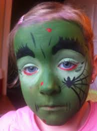 Halloween Makeup For Kids Witch Witch Face Painting With Funanzza Funanzza Princess Parties Cork
