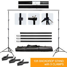 backdrop stands photography backdrop stand lighting studio ebay