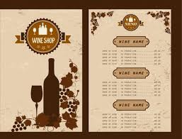 pages menu template wine menu template free vector 14 591 free vector for