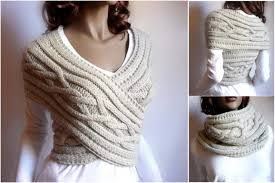 how to knit a sweater diy cable knitted sweater cowl vest