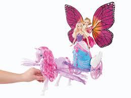 barbie mariposa u0026 fairy princess pegasus flying chariot