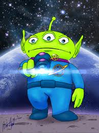 toy story alien nickagneta deviantart