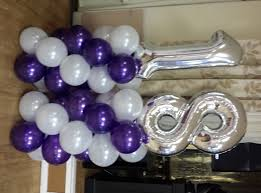 balloons for 18th birthday classic decor for an 18th birthday vip balloons