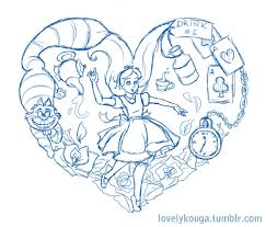 alice in wonderland tattoo designs i says i39m working on an alice