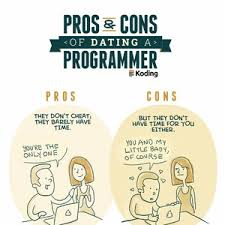 Programer Meme - pros and cons of dating a programmer by pablostanley meme center
