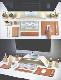 Office Desk Setup Ideas Minimalist Home Office Workspace Desk Setup Free Stock Photo