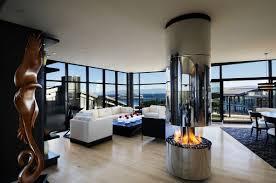 ultra modern floor to ceiling windows design for modern living