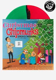 chipmunks christmas chipmunks exclusive lp color vinyl