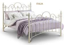 Shabby Chic Metal Bed Frame by Julian Bowen Florence Victorian Style Metal Bed Frame Single