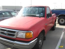 1996 vermillion red ford ranger xlt regular cab 17051265