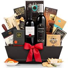 Food Gift Delivery The 5th Avenue Wine Gift Basket