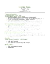 Market Research Sample Resume by Resume Sample Marketing Graduate Templates