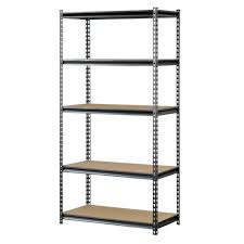 garage shelving units garage shelves u0026 racks the home depot