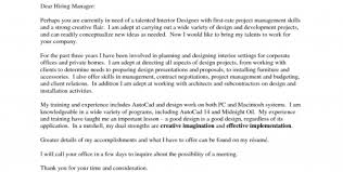 Cover Letter For Interior Design Assistant Application Architect Cover Letter