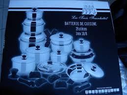 cuisine en batterie de cuisine achetez batterie 3 neuf revente cadeau annonce vente à caudry