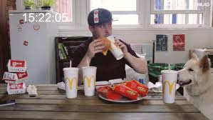 Challenge Unilad Tries Big Mac Challenge It Doesn T End Well For Him