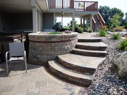 Unilock Retaining Wall Retaining Wall Retaining Walls Madison Wi Proscapes Llc