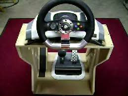 xbox 360 steering wheel xbox 360 steering wheel and pedal accessory stand ii
