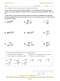 multiplying dividing exponents worksheets rr 8 simplifying rational exponents mathops