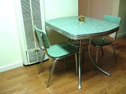 vintage metal kitchen table diner style table and chairs diner style table and chairs kitchen