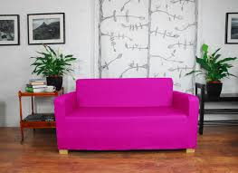 Pink Sofa Slipcover by Slip Cover To Fit The Ikea Ullvi Sofa Bed 20 Colours Available