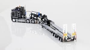 k200 truck with 2x8 dolly 4x8 dragline bucket trailer kenworth