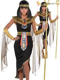 Egyptian Goddess Halloween Costumes Ladies Queen Cleopatra Egyptian Goddess Bn Fancy
