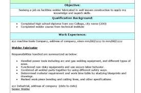 Welder Resume Sample by Good Luck With The Welder Resume Sample Look For Online Resumes